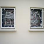 Grille de  décoration pour fenêtre de maison
