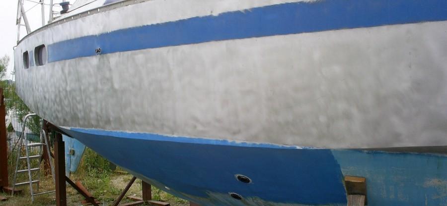Réparation tolerie aluminium